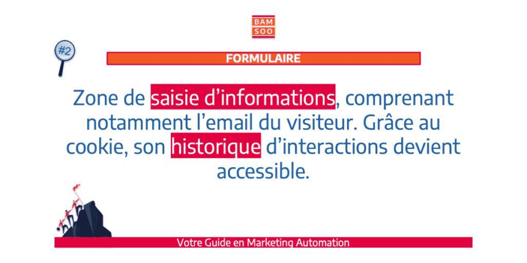 B.A.-BA du marketing automation, le jargon expliqué - Formulaire