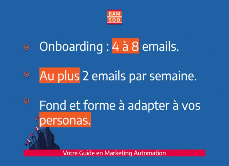 Marketing Automation : Bases simplifiées d'un onboarding B2B efficace - Best Practices