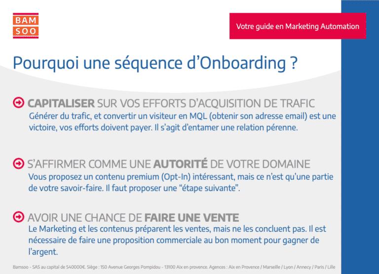 Marketing Automation : Bases expliquées d'un onboarding B2B efficace - Pourquoi mettre en place un onboading ?